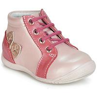 Cipők Lány Magas szárú edzőcipők GBB FRANCKIE Rózsaszín