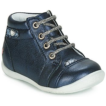 Cipők Lány Magas szárú edzőcipők GBB NICOLE Tengerész