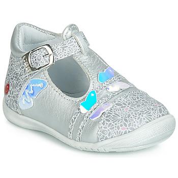 Cipők Lány Balerina cipők / babák GBB MERTONE Ezüst