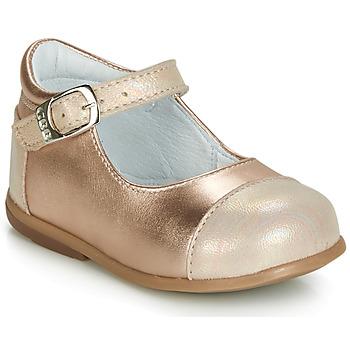 Cipők Lány Balerina cipők / babák GBB BELISTO Rózsaszín / Arany