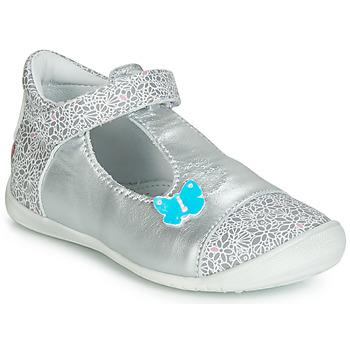 Cipők Lány Balerina cipők / babák GBB MERCA Ezüst