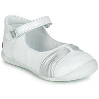 Cipők Lány Balerina cipők  GBB MALLA Fehér
