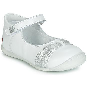 Cipők Lány Balerina cipők / babák GBB MALLA Fehér