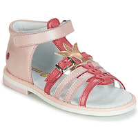 Cipők Lány Szandálok / Saruk GBB CARETTE Rózsaszín