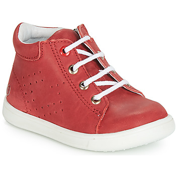 Cipők Fiú Magas szárú edzőcipők GBB FOLLIO Piros