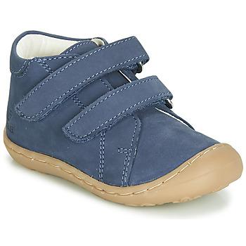 Cipők Fiú Magas szárú edzőcipők GBB MAGAZA Kék