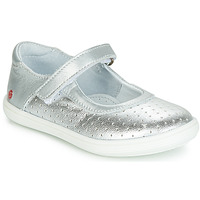 Cipők Lány Balerina cipők / babák GBB PLACIDA Ezüst