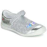 Cipők Lány Balerina cipők / babák GBB SACHIKO Ezüst