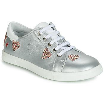 Cipők Lány Rövid szárú edzőcipők GBB ASTOLA Ezüst