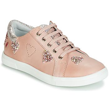 Cipők Lány Rövid szárú edzőcipők GBB ASTOLA Rózsaszín