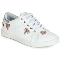 Cipők Lány Rövid szárú edzőcipők GBB ASTOLA Fehér
