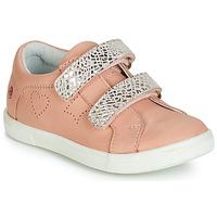 Cipők Lány Rövid szárú edzőcipők GBB BALOTA Vte / Rózsaszín-ezüst / Dpf / Trilly