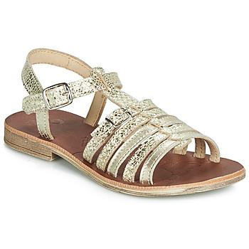 Cipők Lány Szandálok / Saruk GBB BANGKOK Arany