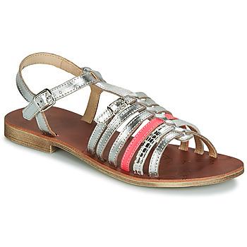 Cipők Lány Szandálok / Saruk GBB BANGKOK Ezüst