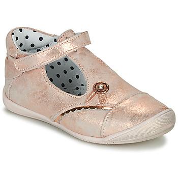 Cipők Lány Balerina cipők / babák Catimini SANTA Vte / Rózsaszín / Arany / Dpf / Kezia