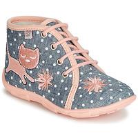 Cipők Lány Mamuszok GBB MERMIDA Szürke / Rózsaszín