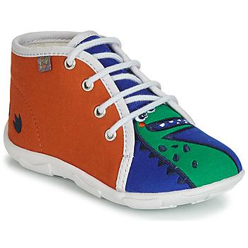 Cipők Fiú Mamuszok GBB MARCCO Narancssárga / Kék