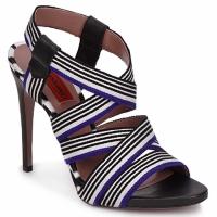 Cipők Női Szandálok / Saruk Missoni RM19 Kék / Fehér