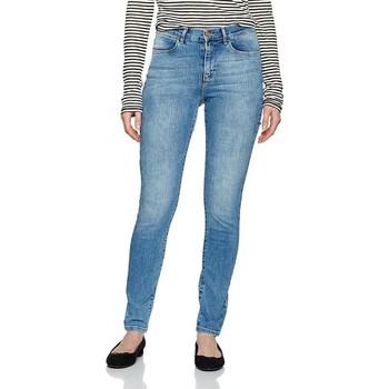 Ruhák Női Skinny farmerek Wrangler ® High Rise Skinny W27HX794O niebieski