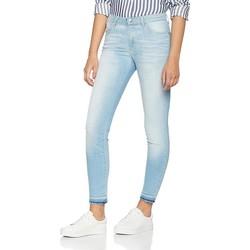 Ruhák Női Skinny farmerek Wrangler Jeansy  Skinny Sunkissed W28KLE86K niebieski
