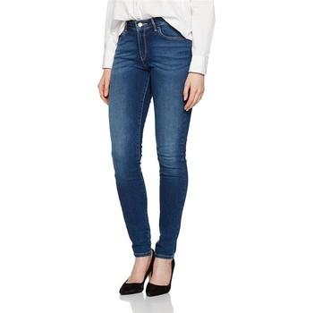 Ruhák Női Skinny farmerek Wrangler Jeansy ® Skinny Authentic Blue W28KX785U niebieski