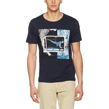 Ruhák Férfi Rövid ujjú pólók Producent Niezdefiniowany Lee® Photo Tee 60QEPS niebieski