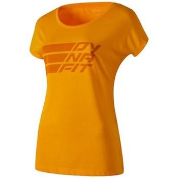 Ruhák Női Rövid ujjú pólók Dynafit Compound Dri-Rel Co W S/s Tee 70685-4630 pomarańczowy