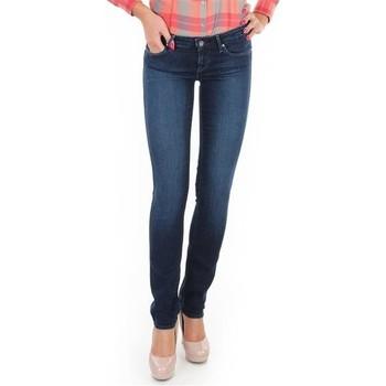 Ruhák Női Skinny farmerek Wrangler Jeansy  Skyline W26FX754R niebieski