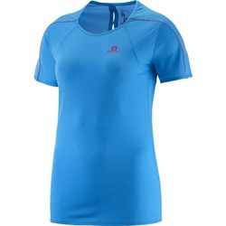 Ruhák Női Rövid ujjú pólók Salomon Koszulka  Minim Evac Tee W 371146 niebieski