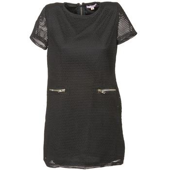 Ruhák Női Rövid ruhák Moony Mood BALA Fekete
