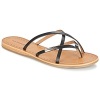 Shoes Női Lábujjközös papucsok Les Tropéziennes par M Belarbi BIP Fekete