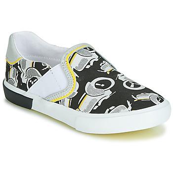 Cipők Fiú Belebújós cipők Catimini CAMAZO Fehér / Fekete