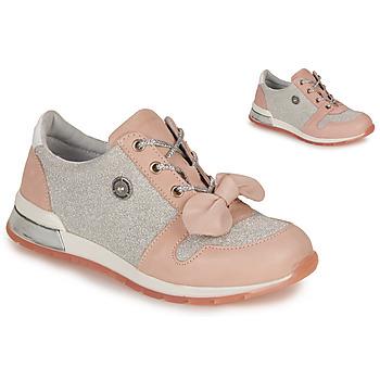 Cipők Lány Rövid szárú edzőcipők Catimini BANJO Rózsaszín
