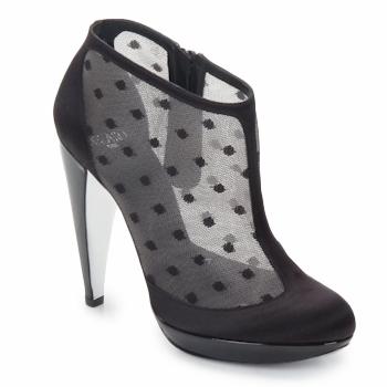 Cipők Női Bokacsizmák Azzaro INTERLUDE Fekete