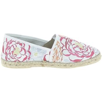 Cipők Női Gyékény talpú cipők La Maison De L'espadrille Camelia Blanc Fehér