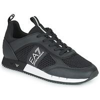 Cipők Rövid szárú edzőcipők Emporio Armani EA7 LACES U Fekete