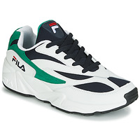 Cipők Férfi Rövid szárú edzőcipők Fila VENOM LOW Fehér / Zöld