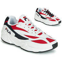 Cipők Férfi Rövid szárú edzőcipők Fila VENOM LOW Fehér / Piros
