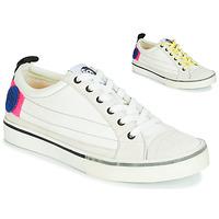 Cipők Női Rövid szárú edzőcipők Diesel D-VELOWS LOW PATCH W Fehér