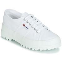 Cipők Női Rövid szárú edzőcipők Superga 2555 COTU Fehér