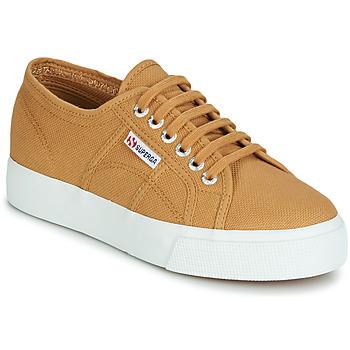 Cipők Női Rövid szárú edzőcipők Superga 2730 COTU Bézs