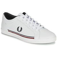 Cipők Férfi Rövid szárú edzőcipők Fred Perry B722 Fehér