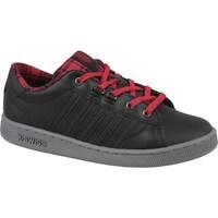 Cipők Női Rövid szárú edzőcipők K-Swiss Kswiss Hoke Plaid Czarne