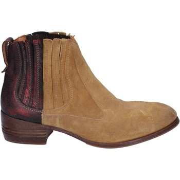 Cipők Női Bokacsizmák Moma BT18 Bézs