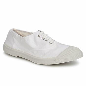 Cipők Női Rövid szárú edzőcipők Bensimon TENNIS LACET Fehér