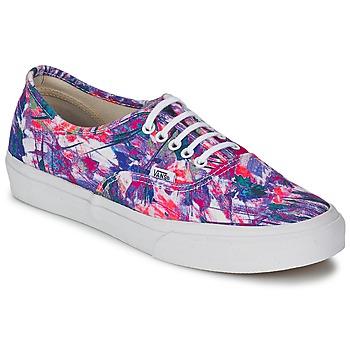 Shoes Női Rövid szárú edzőcipők Vans AUTHENTIC SLIM Lila