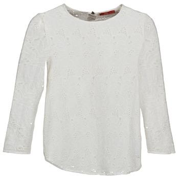 Ruhák Női Hosszú ujjú pólók Esprit VASTAN Fehér