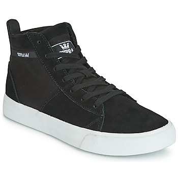 Cipők Magas szárú edzőcipők Supra STACKS MID Fekete