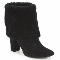 Cipők Női Bokacsizmák Rockport HELENA CUFFED BOOTIE Fekete