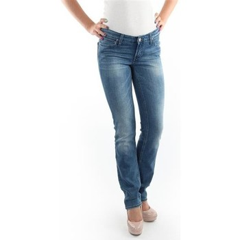 Ruhák Női Slim farmerek Lee Jeansy  Marlin Slim Straight L337OBDJ niebieski